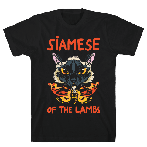 Siamese of The Lambs Mens T-Shirt
