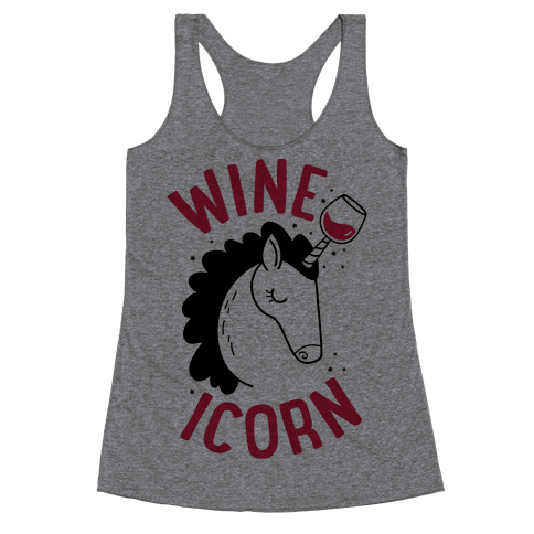 Wineicorn Racerback Tank Top