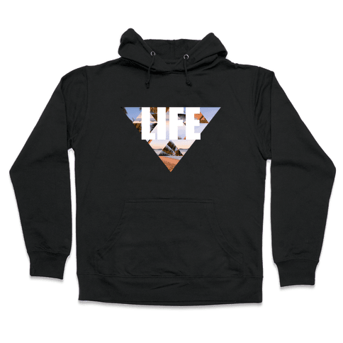Beach Life Hooded Sweatshirt
