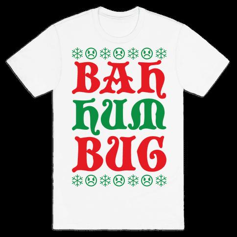 Bah Humbug Mens T-Shirt