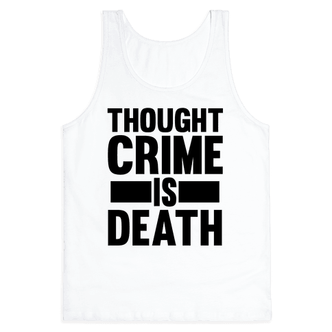 Thoughtcrime Tank Top