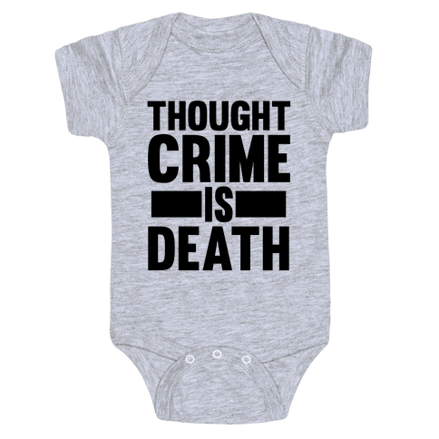 Thoughtcrime Baby Onesy