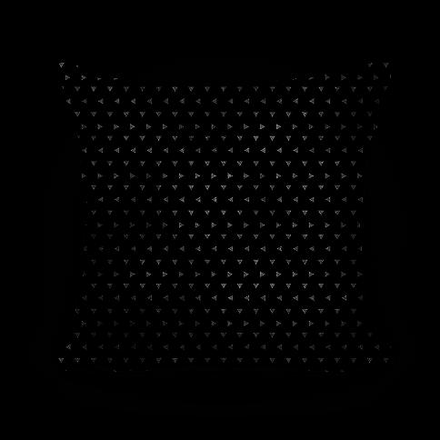 White Triangle Pattern