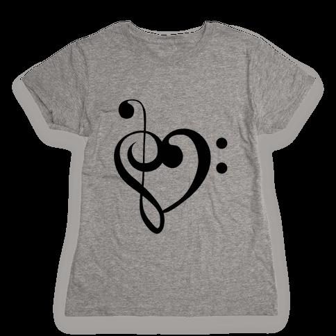 Love Music Tank Womens T-Shirt