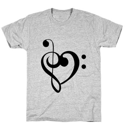 Love Music Tank Mens/Unisex T-Shirt