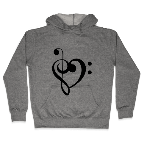 Love Music Tank Hooded Sweatshirt