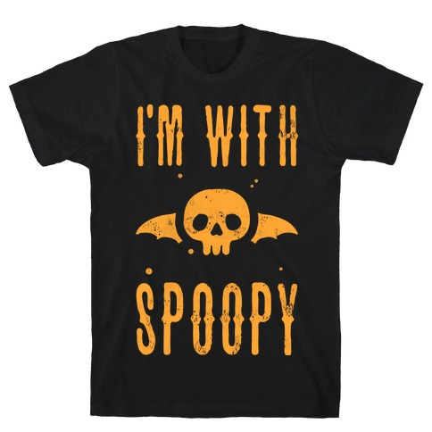 I'm With Spoopy T-Shirt