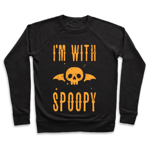 I'm With Spoopy Pullover