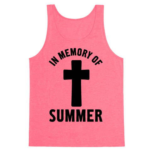 In Memory Of Summer Tank Top