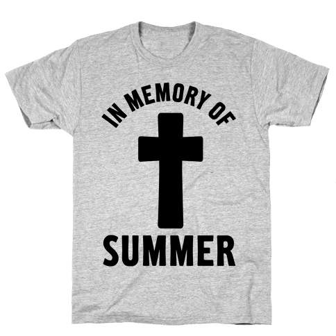 In Memory Of Summer Mens T-Shirt