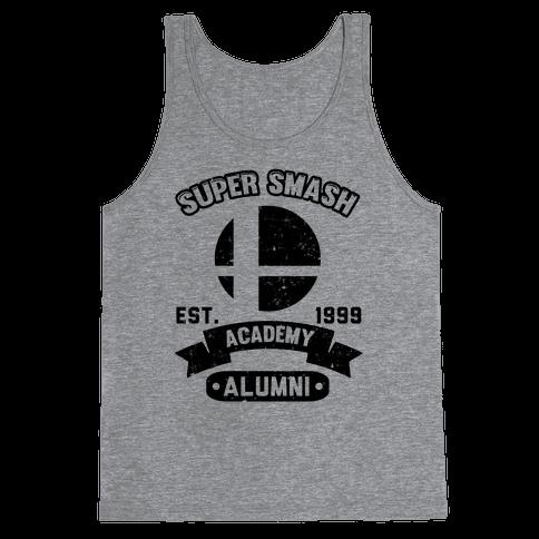 Super Smash Academy Alumni Tank Top