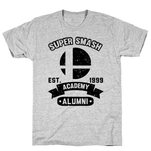 Super Smash Academy Alumni Mens T-Shirt