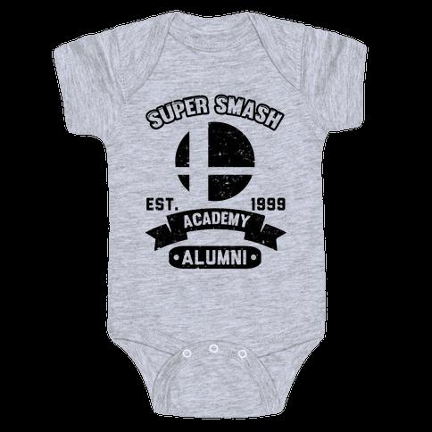 Super Smash Academy Alumni Baby Onesy
