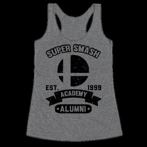 Super Smash Academy Alumni Racerback Tank Top