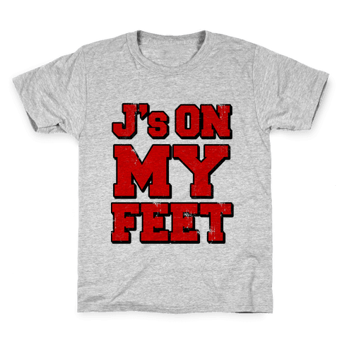J's on My Feet Kids T-Shirt