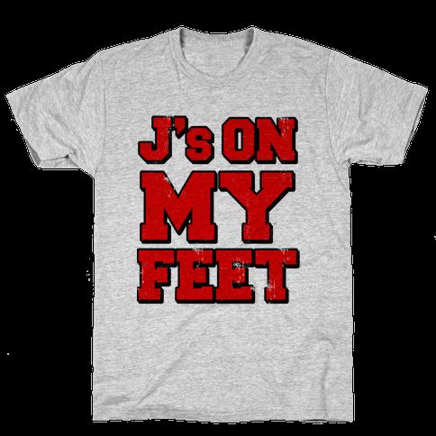 J's on My Feet Mens T-Shirt
