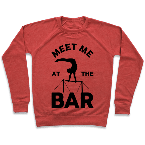 Meet Me At The Bar Gymnastics Pullover