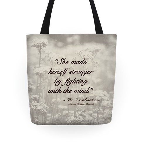 The Secret Garden Tote