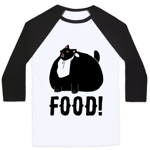 Food - Salem Baseball Tee