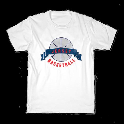 Jersey Basketball Kids T-Shirt