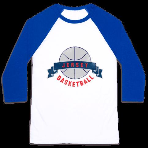Jersey Basketball Baseball Tee