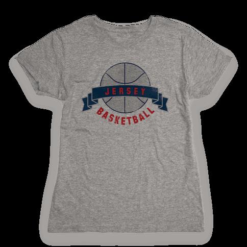 Jersey Basketball Womens T-Shirt