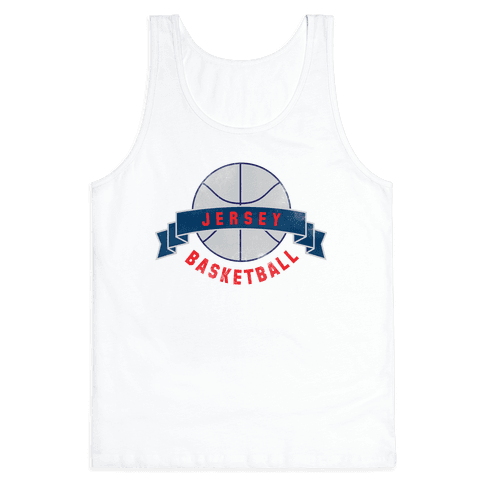 Jersey Basketball Tank Top