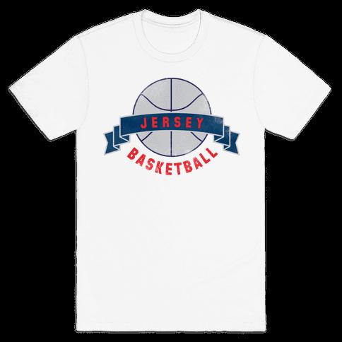 Jersey Basketball Mens T-Shirt