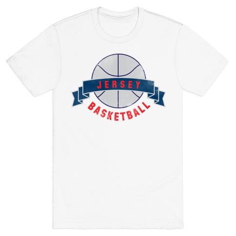 Jersey Basketball T-Shirt