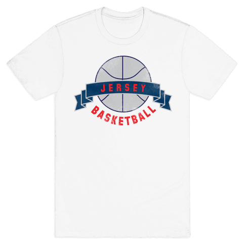 Jersey Basketball Mens T-Shirt