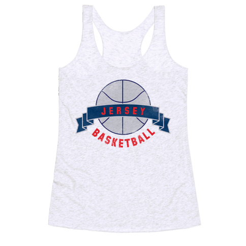Jersey Basketball Racerback Tank Top