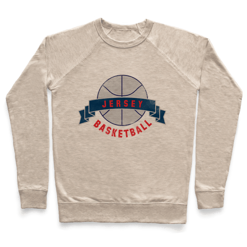 Jersey Basketball Pullover