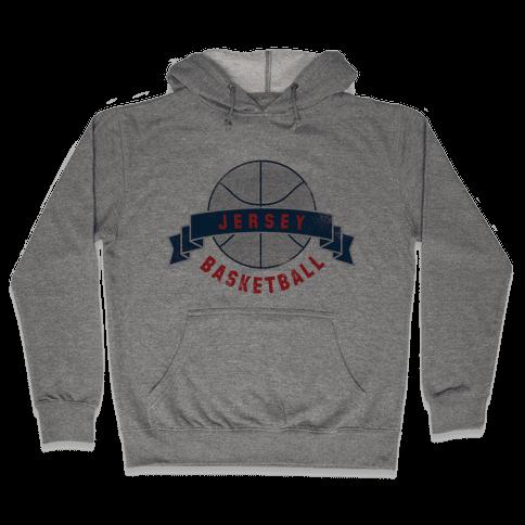 Jersey Basketball Hooded Sweatshirt