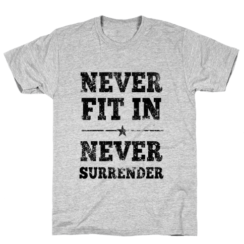 Never Fit In Mens T-Shirt