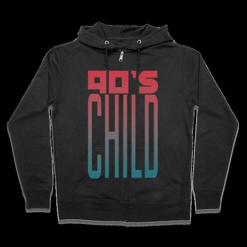 90's Child Zip Hoodie