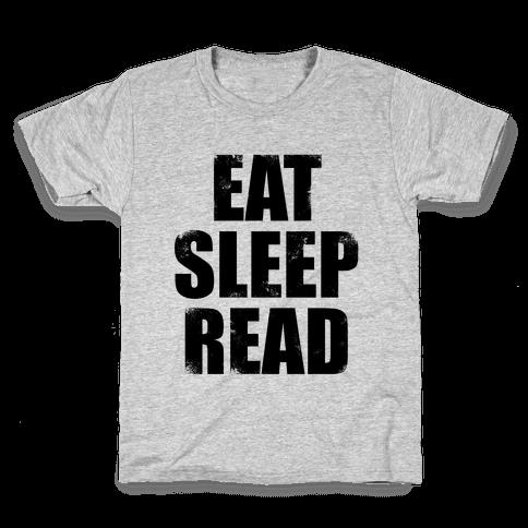Eat Sleep Read Kids T-Shirt