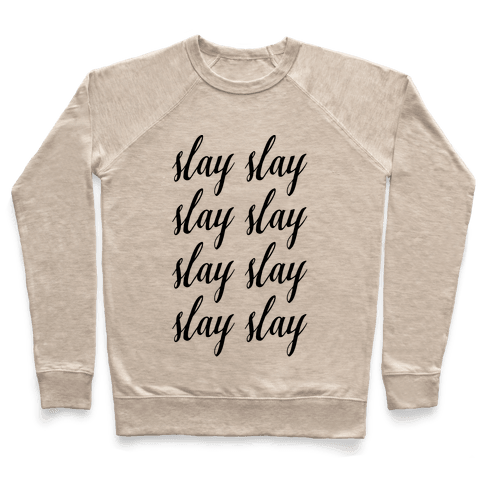 Slay Slay Slay Slay (Cursive)