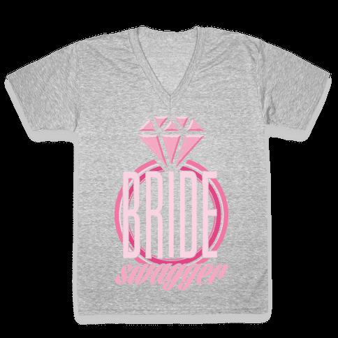 Bride Swagger V-Neck Tee Shirt