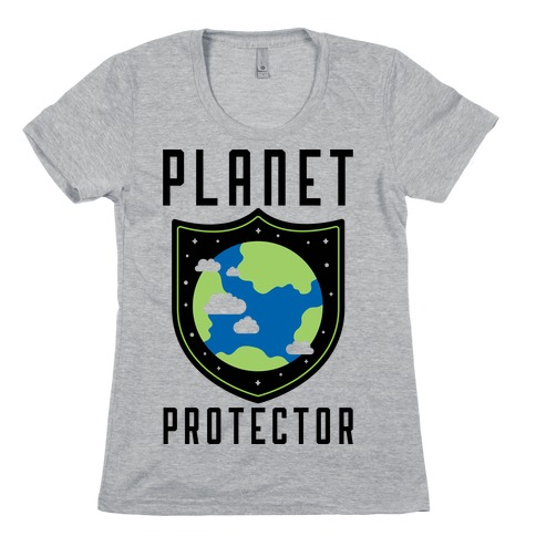 Planet Protector Womens T-Shirt