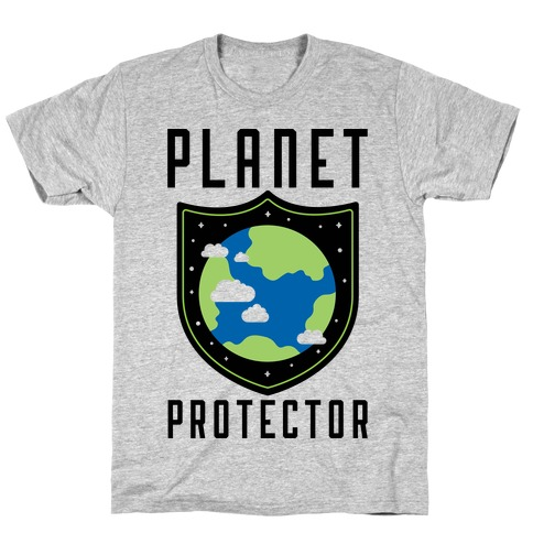 Planet Protector Mens T-Shirt