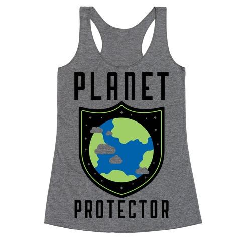 Planet Protector Racerback Tank Top