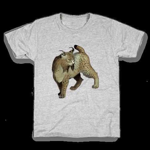 Wild Cat Lynx Kids T-Shirt