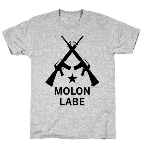 Molon Labe Mens T-Shirt