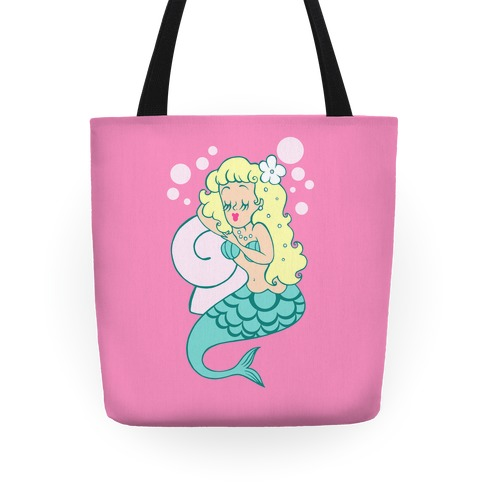 Sleepy Mermaid Tote Tote