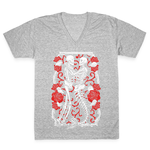 Deep Sea Love Affair V-Neck Tee Shirt