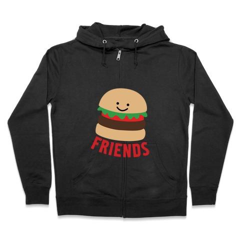Best Burger Zip Hoodie