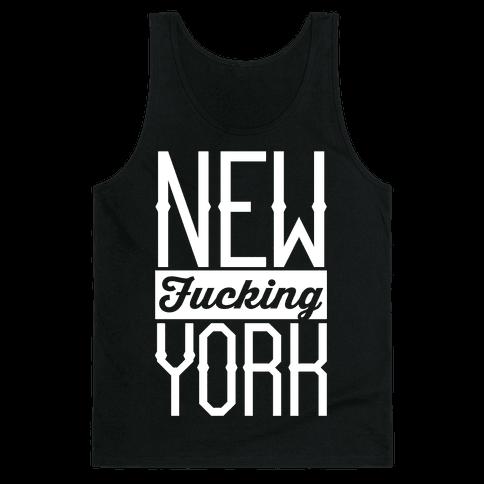 New F***ing York Tank Top