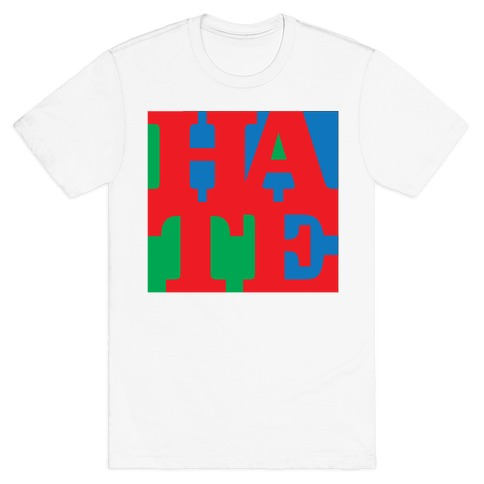 HATE Mens T-Shirt