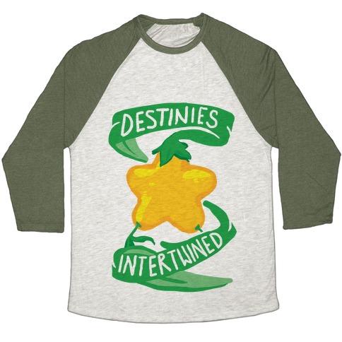 Destinies Intertwined Baseball Tee