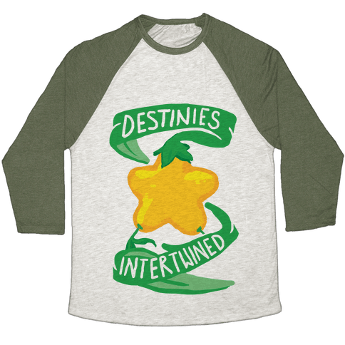 Destinies Intertwined Baseball Tee
